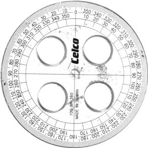 Using Your Protractor